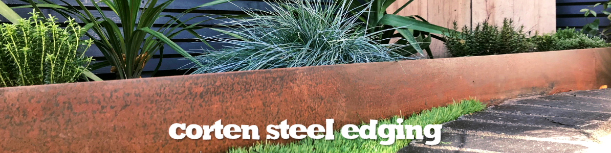 Corten Steel Edging The Pot Company