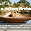 To celebrate #NationalGardeningWeek we are giving you the opportunity to #WIN one of our bestsellers - the 60cm Curved Corten Fire Pit!