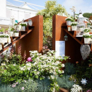 A little #throwback to last years #RHSChelseaFlowerShow where we were asked by @hilliergarden to supply the #CortenSteel for the Bull Ring Gate entrance they were asked to dress for the occasion, inspired by the #RoyalWedding, incorporating some bespoke m