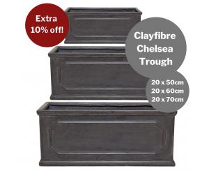 Bulk Buy: Clayfibre Chelsea Trough
