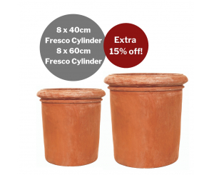 Bulk Buy: Terracino Fresco Cylinder