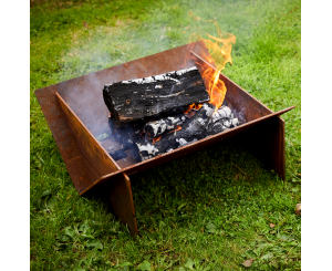 Minima Corten Steel Fire Pit