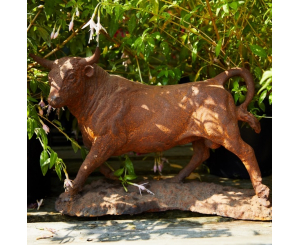 Miniature Bull Statue