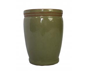 Glazed Herb Pot