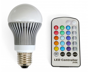 LED Bulb and Remote
