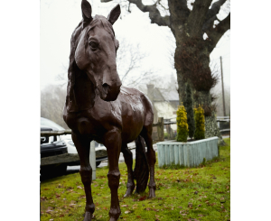 Lifesize Proud Horse Statue