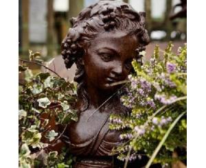 Roman Lady Bust Statue