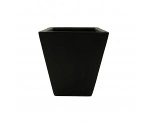 Flared Square - black