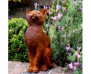 Curious Cat Statue
