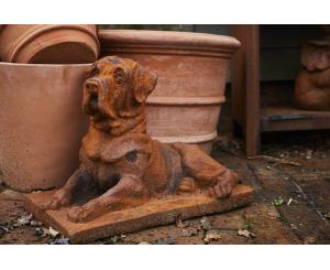 Watchful Dog Statue
