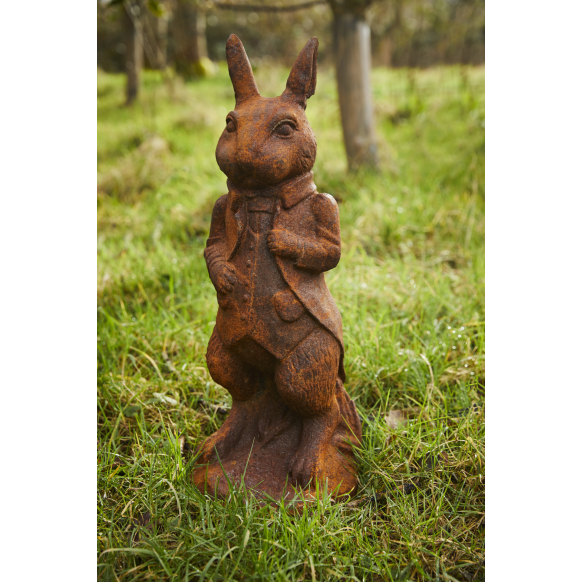 Standing Rabbit Statue Image