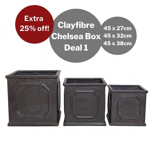 Bulk Buy: Clayfibre Chelsea Box Image