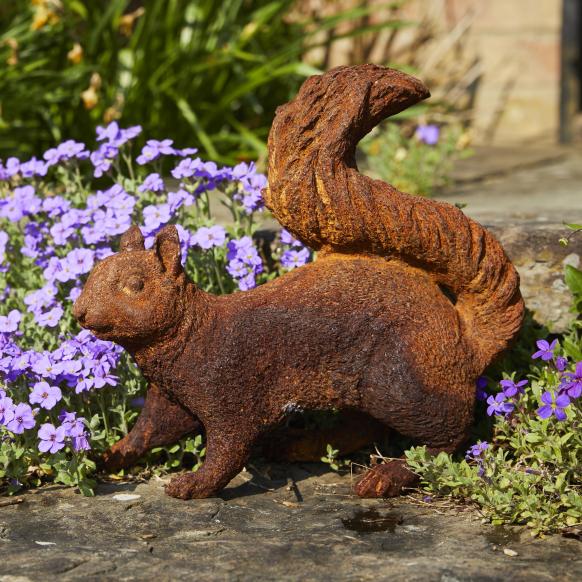 Foraging Squirrel Statue Image