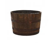 Aged Oak Whisky Half Barrels Image