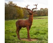 Majestic Stag Statue Image