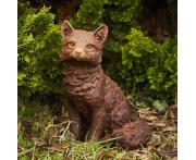 Sitting Fox Statue Image