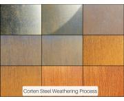 Corten Steel Float Bowl Image