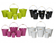 Buckets - Coloured Image