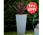 Contemporary Tapered Planter Image