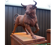 Giant Bull Statue Image