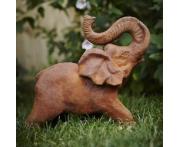 Majestic Elephant Statue Image