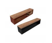 Jardi Wood Storage Bench Image