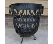 Knotted Log Basket Image