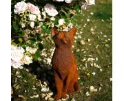 Curious Cat Statue Image